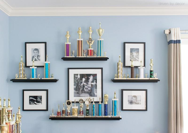 Ways To Display Trophies Zef Jam