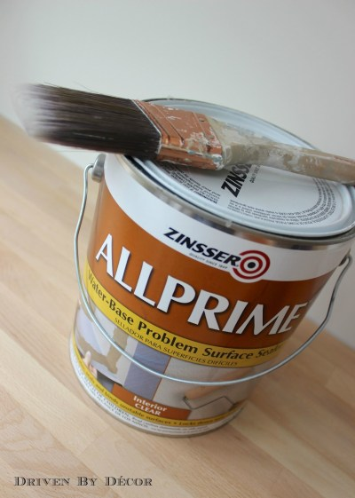 Painting Over Wallpaper Glue: Be Sure to Do This First! | Driven by Decor