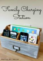DIY Family Charging Station