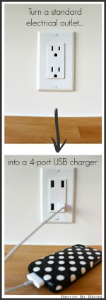 Outlet And USB Charging Station