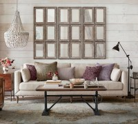 An Idea for Decorating the Wall Behind Your Sofa | Driven ...
