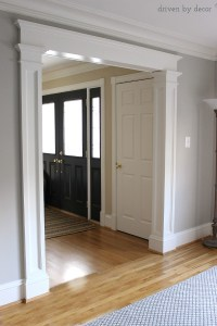 Doorway Molding Design Ideas - Driven by Decor