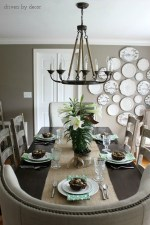 Chandelier Over Dining Table Size