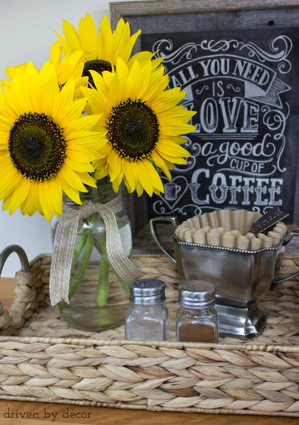Cute Sunflower Wallpaper My 2015 Fall Home Tour Driven By Decor