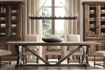 Restoration Hardware Trestle Dining Table Wood