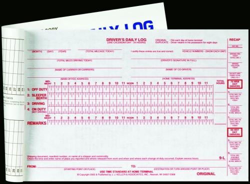 Bus/Motorcoach Log Books for Bus/Motoracoach Operators - driving log sheet template