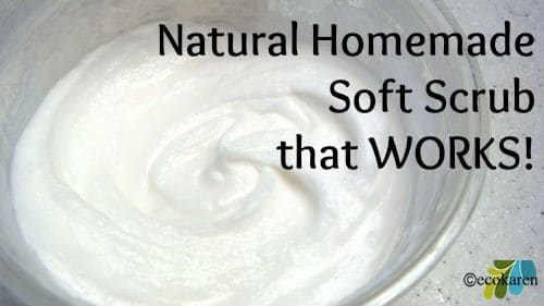 homemade soft scrub ecokaren