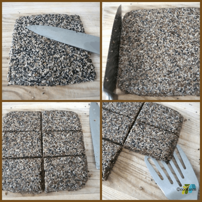 Chocolate Larabar Collage
