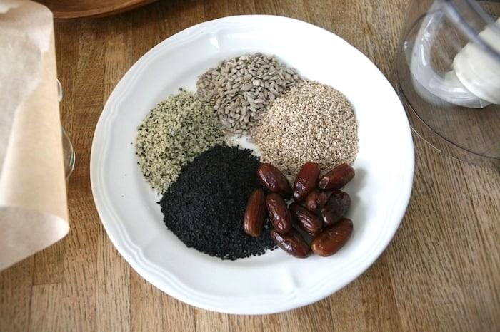 Ingredients for Larabar