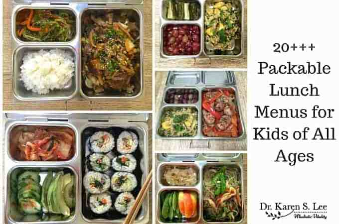 20+ Packable Lunch Menus for Kids of All Ages