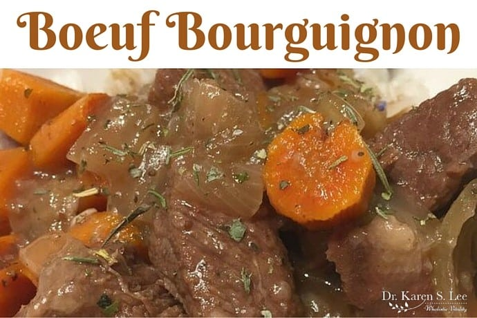 Boeuf Bourguignon In Instant Pot Dr Karen S Lee