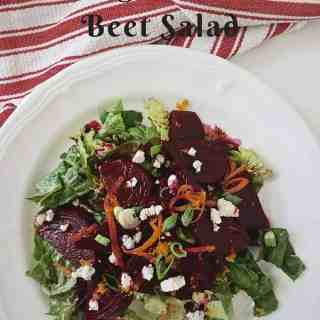 Orange Scented Beet Salad Featured
