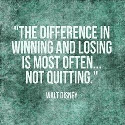 Walt Disney Not Quitting