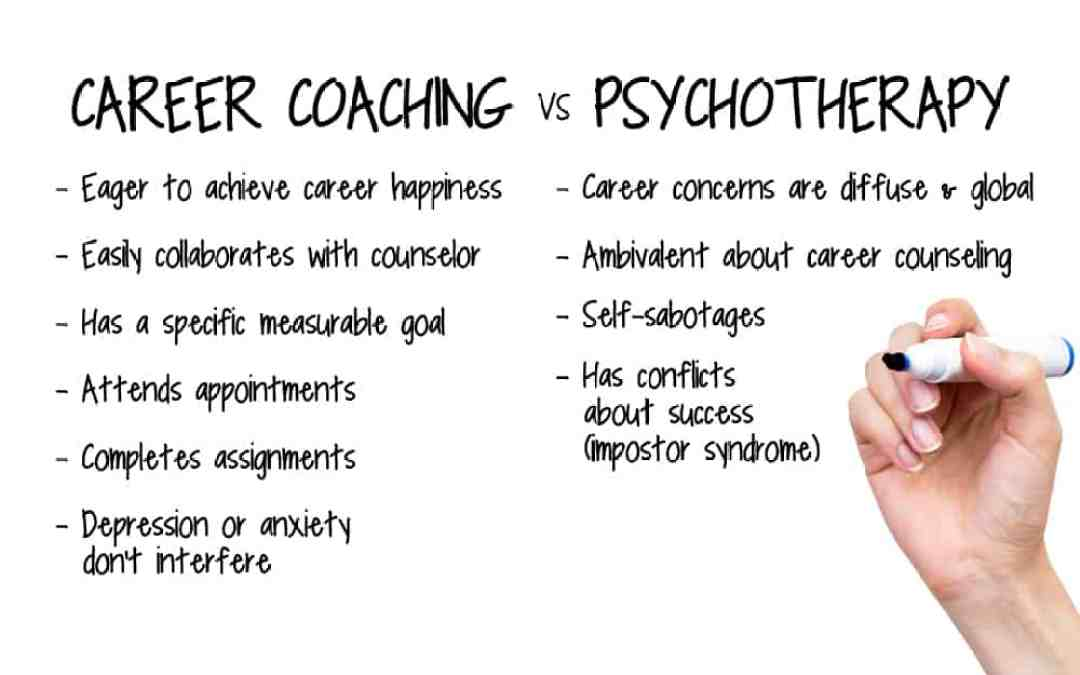 Career counseling or psychotherapy: Washington DC Seminar