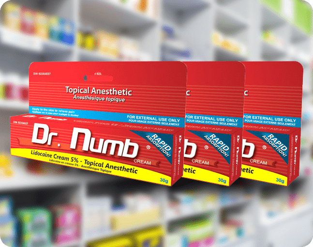 Dr. Numb - Most Recommended Topical Anesthetic Cream
