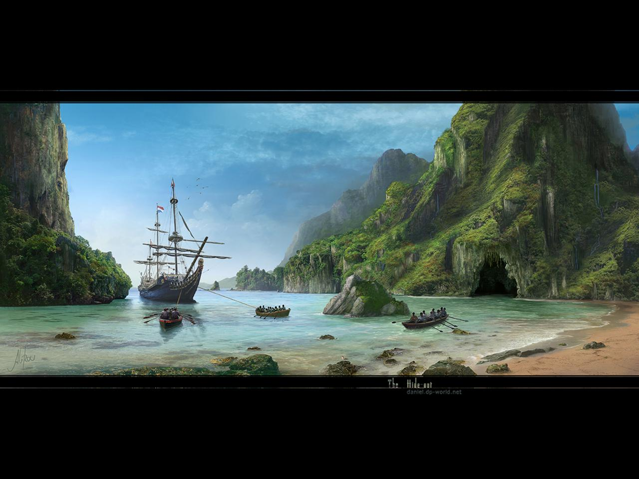 3d Island Wallpaper Raccolta Sfondi Desktop Paesaggi E Panorami Gratis