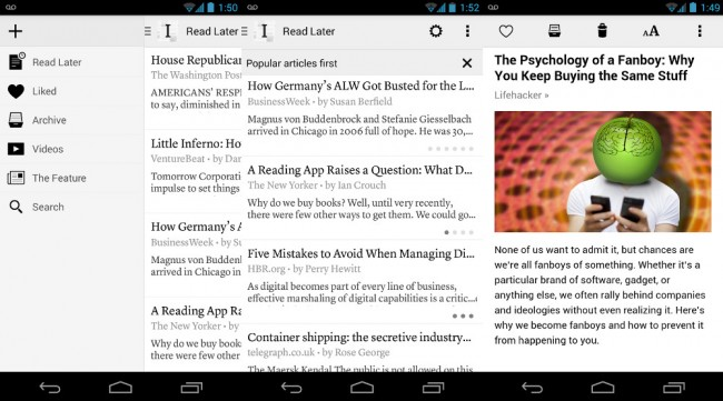 android instapaper