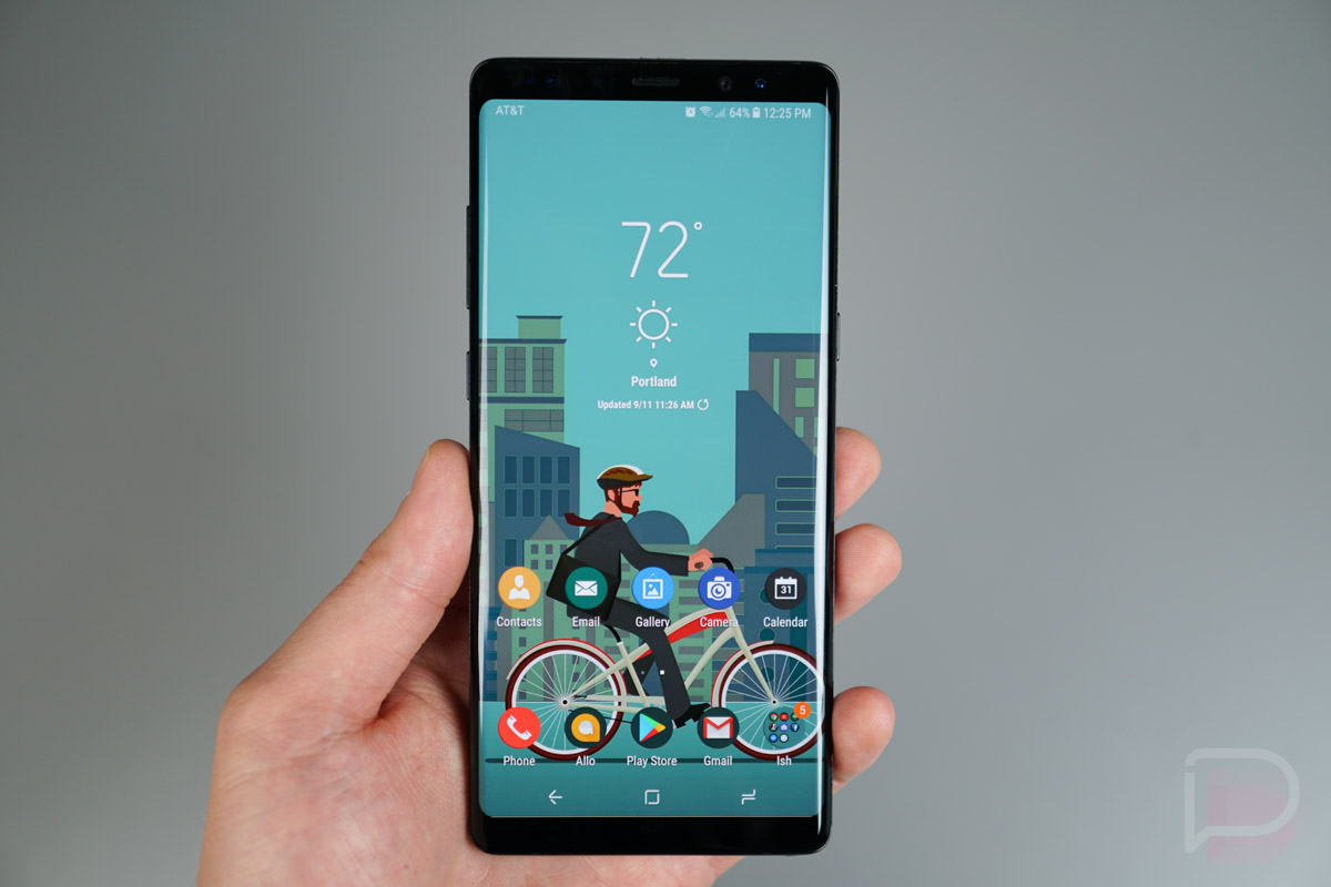 Complete Black Wallpaper My 5 Favorite Galaxy Note 8 Themes Droid Life