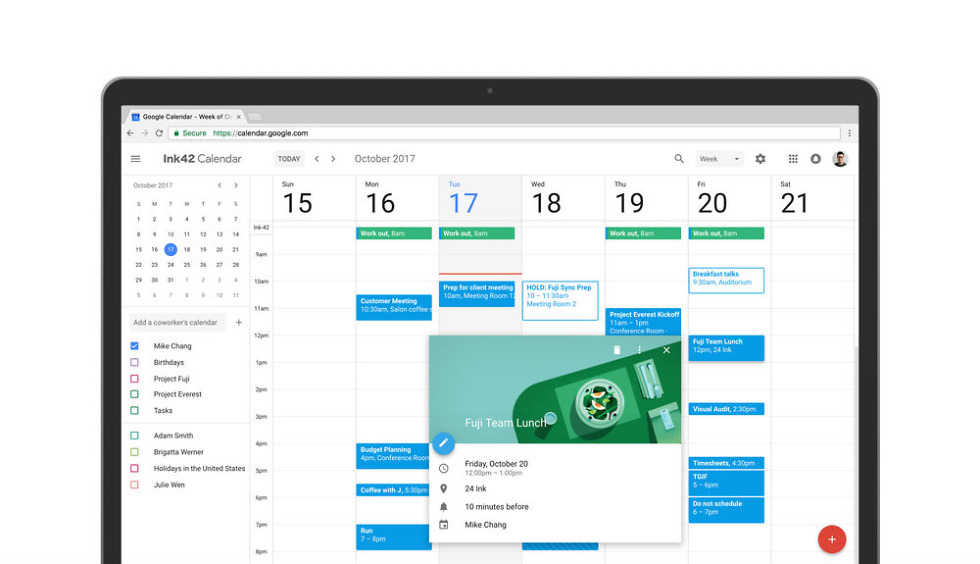 Google Calendar, Sexified With Material Design, Now Available to All