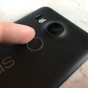 nexus 5x senzor otiska prsta