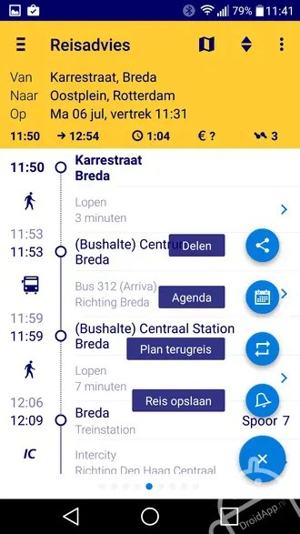 NS Reisplanner 40 grote update maakt NS-app nog handiger