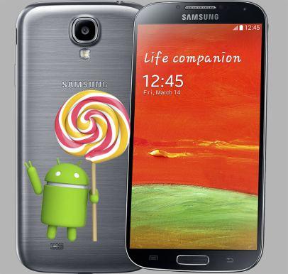 Galaxy S4 LTE Lollipop