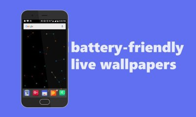 5 Battery-Friendly Live Wallpapers for Android | DroidViews