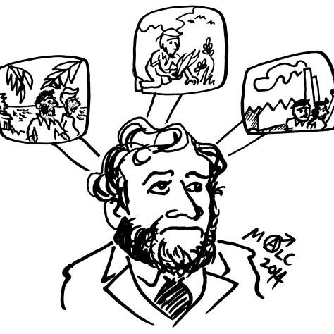 Jaurès fait la synthèse de ses idées.