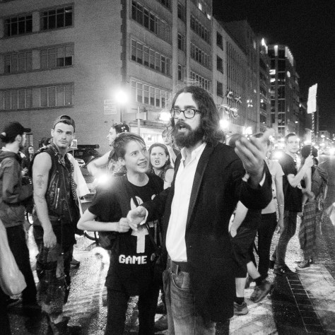 Manif nocturne du 5 septembre. Photo: D-Max.Samson