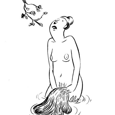 Auteur : Anne Archet Illustrations : Mélanie Baillairgé Le Carnet écarlate Fragments érotiques lesbiens Éditions du Remue-ménage Année : 2014