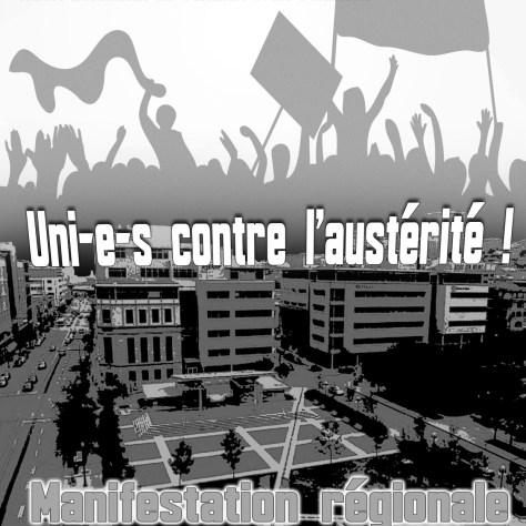 Uni-e-s contre l'austérité le 1er mai