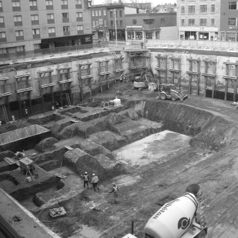 Chantier de la place Jacques-Cartier