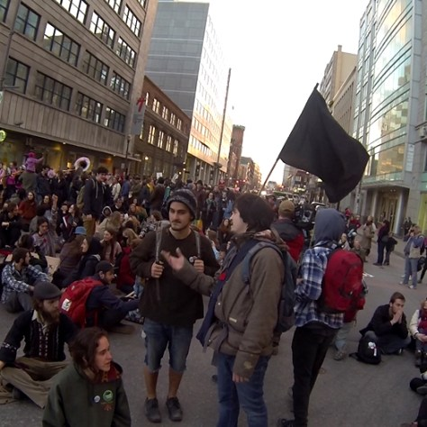 blocage Rue 1er mai 1 Gappa