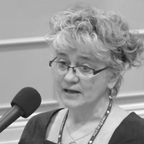Danielle Papillon au conseil municipal le 1er février dernier.