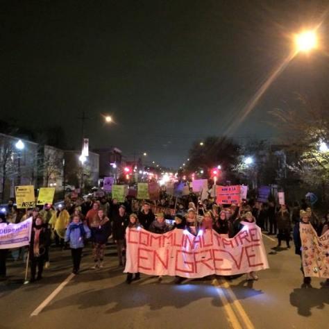 la manifestation du communautaire en décembre 2015. jpg