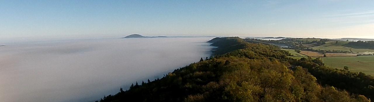 wenlock edge mist