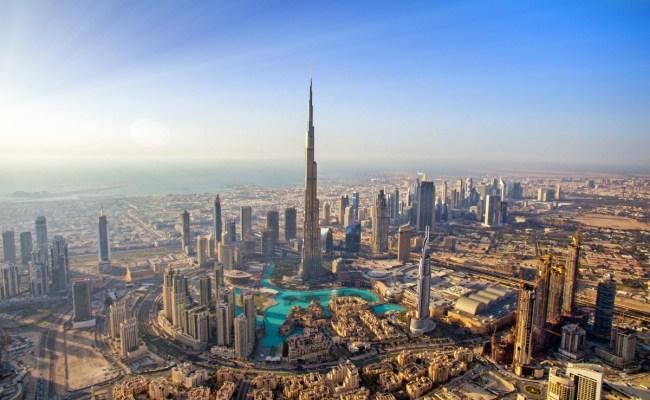Dubai Skyline Dronestagram