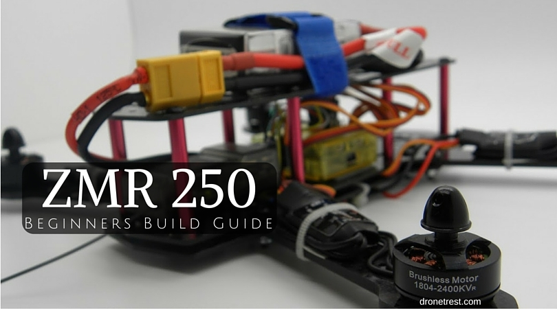 QAV ZMR 250 Assembly Build Guide - Guides - DroneTrest