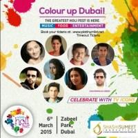 Holi Fest in Dubai with Shashi Sumeet Mittal