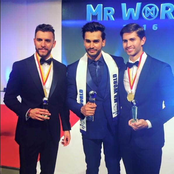 Mr. World 2016 Rohit Khandelwal