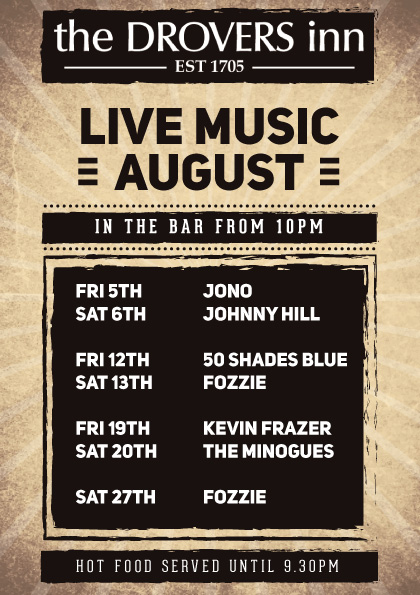 Live Music August