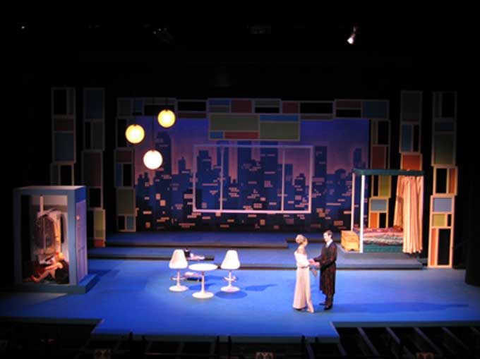 Sweet Charity  The Apartment Set Scene Stage Pinterest - Musical Theatre Resume