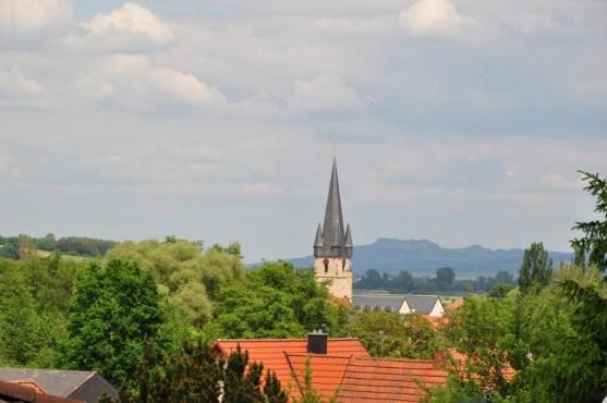 Staffelbergblick vom Balkon