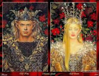 Elf King and Queen