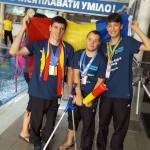 """FOTO   Lecții de viață în carne și oase! Copiii de la Fundația de Abilitare """"Speranța"""", medaliați la concursul Special Olympics din Ucraina"""