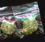 Fake Weed Synthetic Marijuana Bag