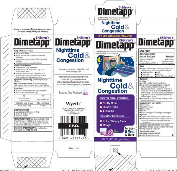 dimetapp dosing chart - Mendicharlasmotivacionales