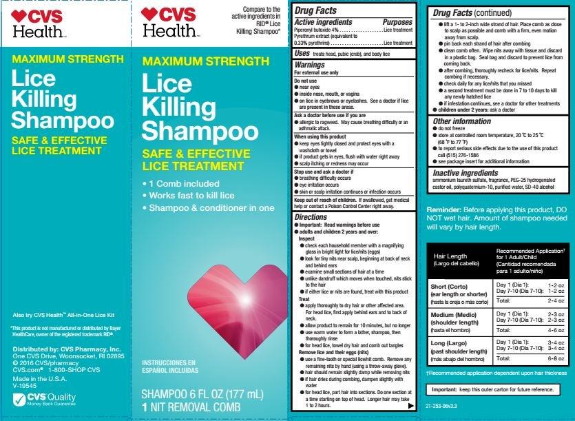 lice shampoo cvs