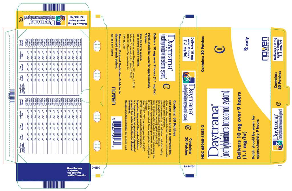 Daytrana - FDA prescribing information, side effects and uses