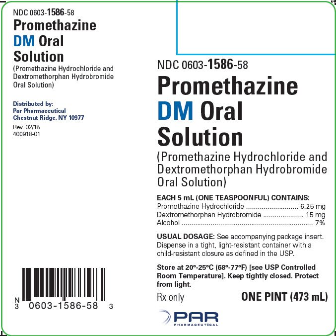 Promethazine DM - FDA prescribing information, side effects and uses